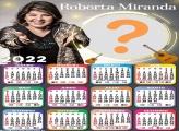 Calendário 2022 Roberta Miranda Foto Grátis Online
