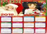 Calendário 2018 Papai Noel
