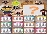Calendário 2022 Piratinha Editar Grátis
