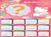 Montagem Calendário 2020 Hello Kitty