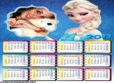 Calendário 2017 Frozen Elsa