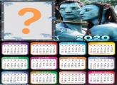 Foto Colagem Calendário 2020 Avatar