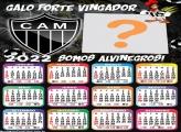 Calendário 2022 Atlético Mineiro Futebol