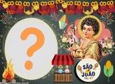 São João Festa Junina Moldura para Foto