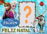 Frozen Feliz Natal Colagem de Fotos Grátis