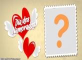 Dia dos Namorados Corações com Asas