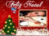 Moldura Cartão Feliz Natal