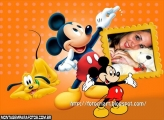 Moldura Giz do Mickey