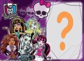 Moldura de Foto Monster High