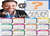 Montagens com Fotos Calendário 2021 André Valadão