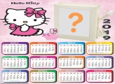 Calendário 2019 Hello Kitty