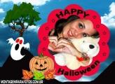 Abobora e Fantasma Halloween