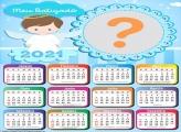 Calendário 2021 Batizado de Meninos
