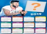 Calendário 2019 Gusttavo Lima
