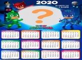 Calendário 2020 PJ Masks Colagem de Foto