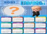 Calendário 2021 Infantil do Poderoso Chefinho
