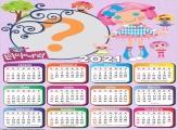 Molduras para Fotos Calendário 2021 Lalaloopsy
