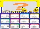 Calendário 2020 Banana de Pijamas