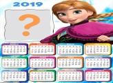 Calendário 2019 Princesa Anna