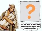 Este é o amor de Jesus Moldura