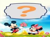 Flores para Minnie na Disney