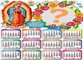 Calendário 2022 Nossa Senhora de Guadalupe Foto Grátis
