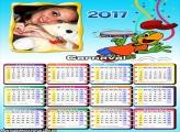 Calendário 2017 Barbie Cantora