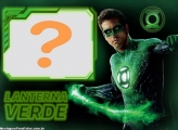 Moldura Lanterna Verde