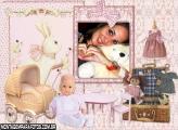 Moldura Boneco de Bebê