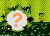 Halloween Frankenstein Moldura