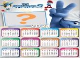 Calendário 2021 Os Smurfs 2 com Foto