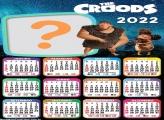 Calendário 2022 The Croods Online Montagem