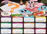 Calendário 2021 Gumball de Natal