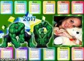 Calendário 2017 Hulk Horizontal