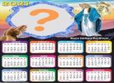 Calendário 2021 Nossa Senhora das Graças Foto Colagem