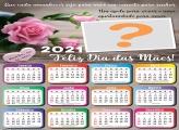 Calendário 2021 Mamãe Eu te Amo Foto Colagem