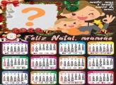 Calendário 2022 Mamãe Feliz Natal Montar Grátis