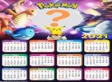 Foto Montagem Grátis Calendário 2021 Pokémon