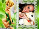 Moldura FadaTinkerBell Beatriz