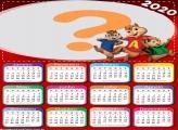 Calendário 2020 Alvin e os Esquilos