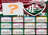 Calendário 2022 Fluminense Fazer Montagem Grátis