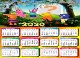 Foto Montagem Calendário 2020 Os Backyadigans