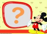 Moldura Digital do Mickey
