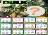 Montagem de Foto Calendário 2021 Hulk