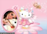 Fadinha Hello Kitty Moldura