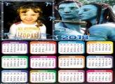 Calendário 2018 Avatar
