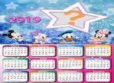 Calendário 2019 Baby Disney