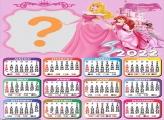 Calendário 2022 Princess Pink Foto Grátis Online