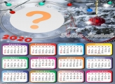 Calendário 2020 Luzes Árvore de Natal