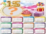 Calendário 2021 Aniversário 15 Anos